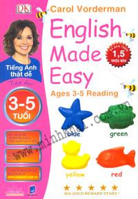 Tiếng Anh Thật Dễ 3-5 Tuổi - Tập Đọc ( Sách Song Ngữ) Tiếng Anh Thật Dễ 5-6 Tuổi ( Sách Song Ngữ)  T...